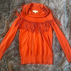 Women's Michael Kors fringe pullover